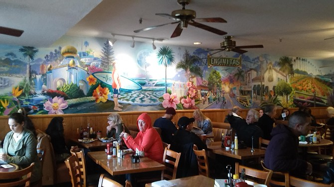 Honey's is as eclectic as the owner's popular Swami's Cafes.