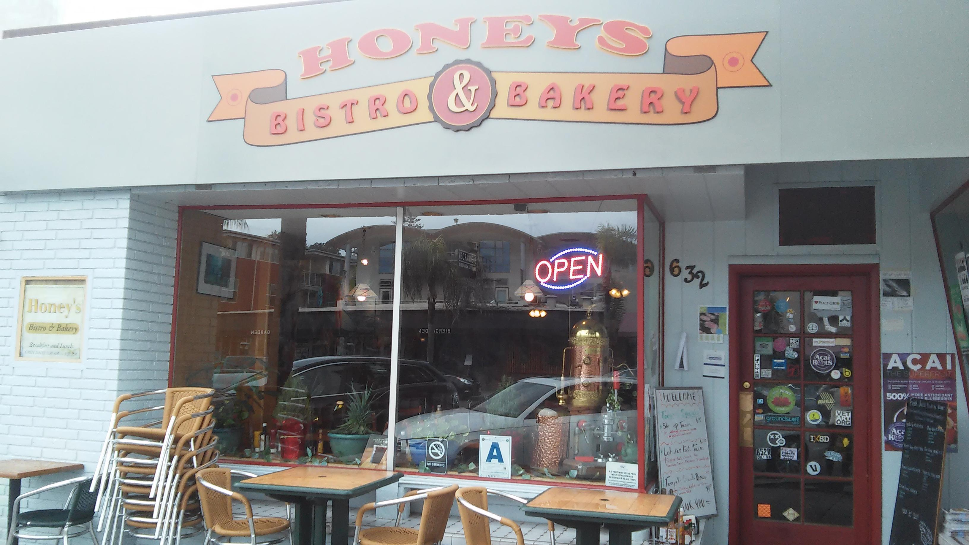 Honey's Bistro & Bakery in Encinitas is a hidden gem.