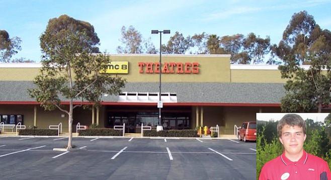 The AMC 8 in Encinitas (originally AMC Wiegand Plaza) — its loss still mourned by Danny Baldwin