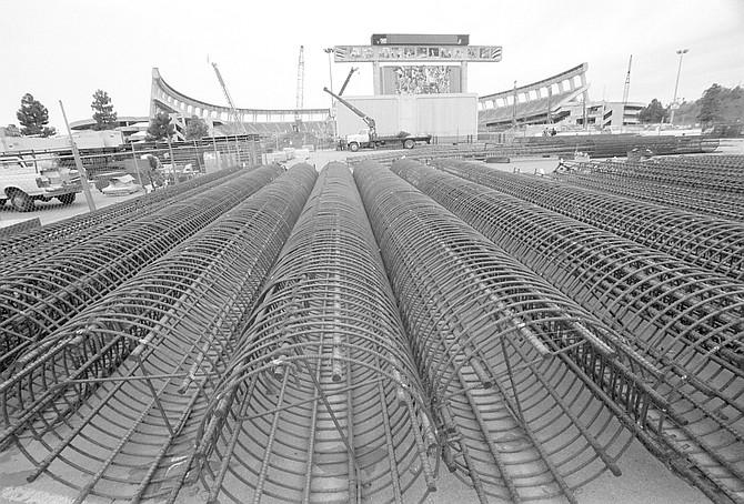Stadium expansion construction - Image by Joe Klein