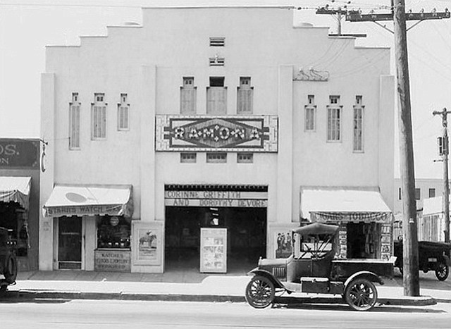 Ramona Theater, c. 1920s
