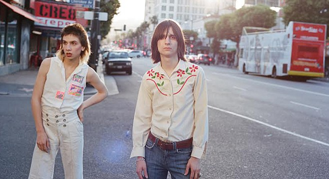Lemon Twigs are a new band, one that clearly respects the mullet.