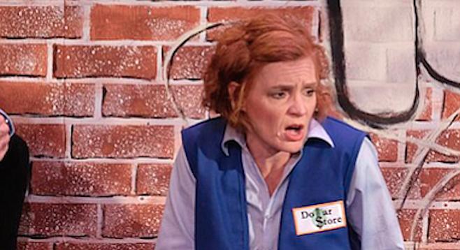 Heidi Bridges (Margie) in Good People