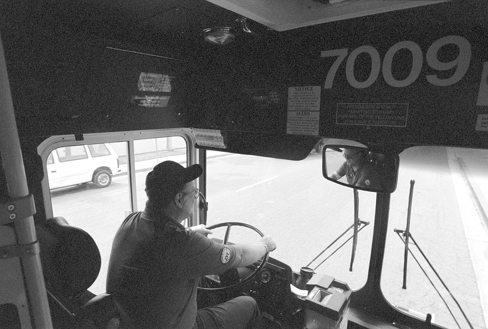 Yost, at 56, a former Navy signalman as well, should be one son of a bitch, which is why it is curious that he is the Angel of South Bay's #705 bus route.