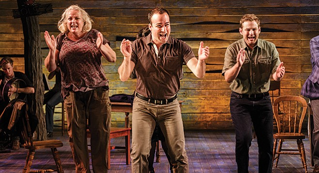 The La Jolla Playhouse sent Come From Away to Broadway.