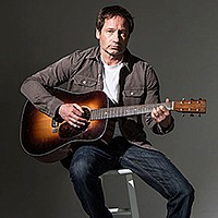 David Duchovny put out a folk-rock record called Hell or Highwater in 2015. Um, see for yourself.
