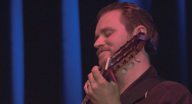 """Classical guitarist William Wilson: """"I'm always thinking, How are people going to find me?"""""""