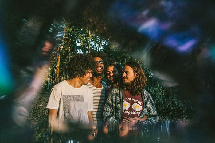 Brazilian psych-pop band Boogarins will headline sets at Soda Bar on Saturday.