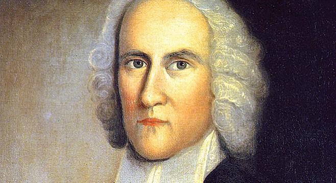 Jonathan Edwards: preacher, theologian, and Aaron Burr's grandfather