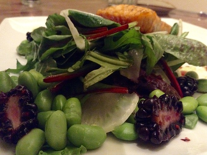 The brilliant salad that came with Mary Beth's salad