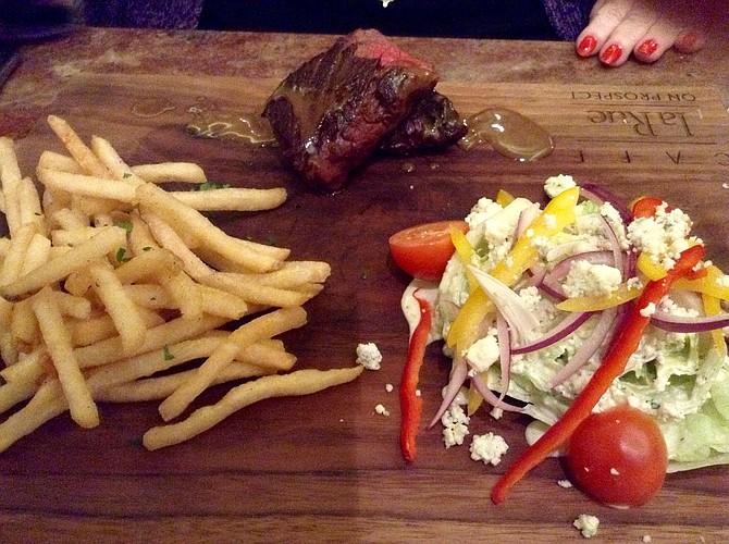 Carla's steak and frites