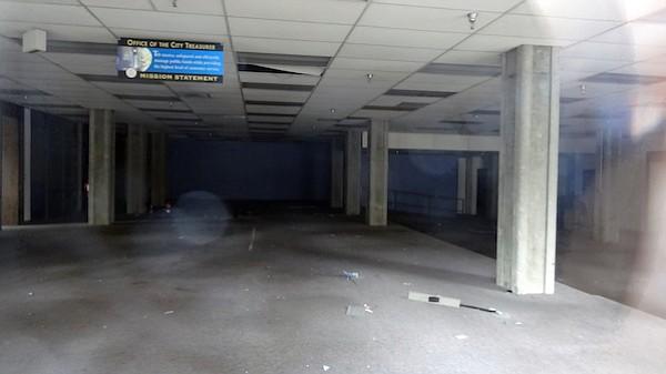 Ground floor of garage
