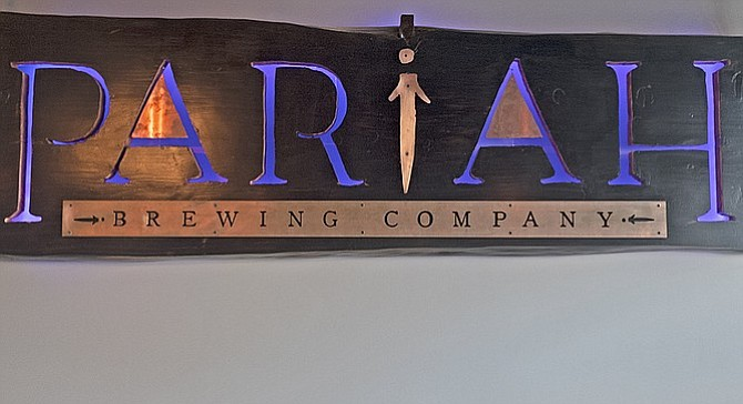 """I've been a loner,"" says Pariah Brewing founder Brian Mitchell, explaining the brewery's name. ""Instead of letting everyone figure it out, I just put it on the door."""