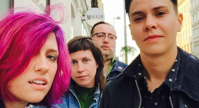 DC's post-punk Priests will play Ché Café on Wednesday.