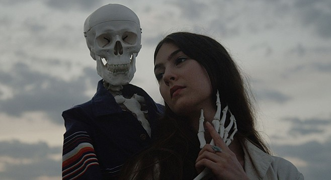 With a Front Row Seat to Earth, alt-folk singer/songwriter Weyes Blood sets up at Soda Bar on Thursday night.