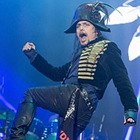 Adam Ant, formerly of Adam and the Ants