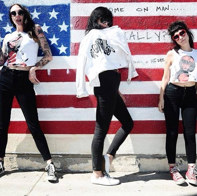 Casbah stages garage-punk Atlanta band the Coathangers on Saturday.