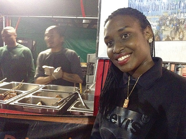 Darlene — first Burundian I've ever met
