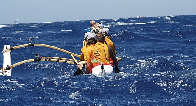 I remember wishing I had an outrigger.