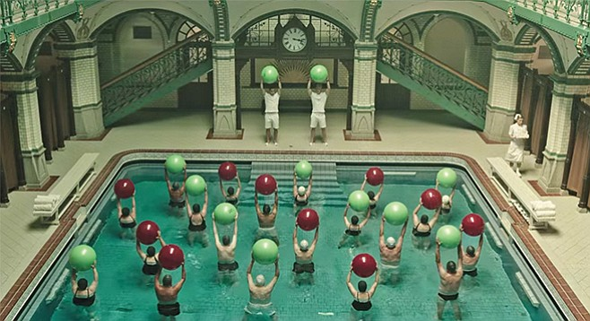 A Cure for Wellness: The gorgeous European spa–based existential crises of Paolo Sorrentino's Youth x the lurid grotesquerie of a Hammer Studios horror film = a good time at the movies