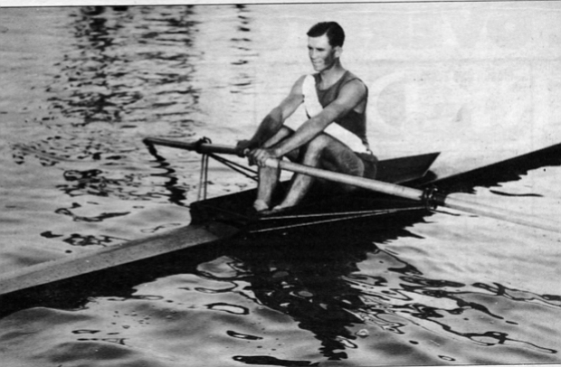 Coggeshall, 1925. The San Diego Rowing Club, located for years at the foot of Fifth Avenue, had 1500 members — more than any other rowing club in the nation.