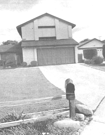 House on Frankel Way, Linda Vista. When Peter returned to Frankel Way, his knock was answered by a Vietnamese woman in her 20s over whose shoulder Peter spied a drawing of our father, fully bearded but instantly recognizable.