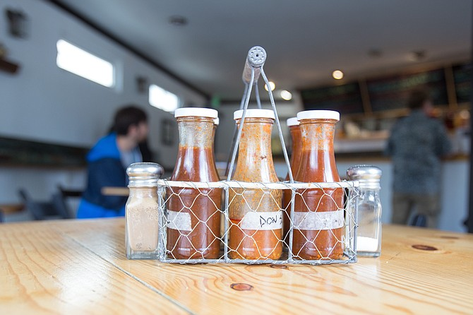 Hog sauce: tangy, spicy, and sweet.