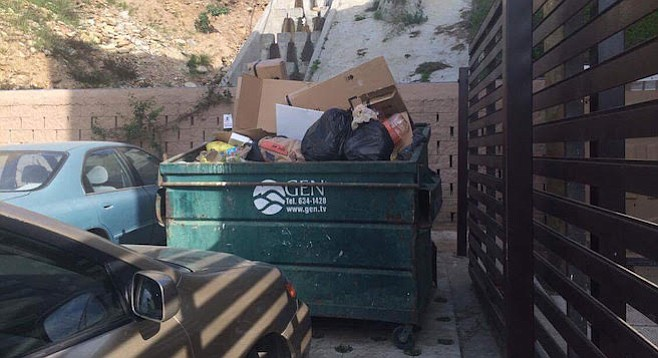 """""""Garbage pick-up is usually on Tuesdays.... Sometimes it's on Wednesdays, or maybe on Thursdays."""""""
