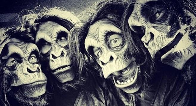 The Creepy Creeps don't wear masks, says Dia de los Creep.