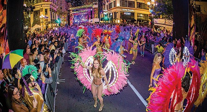 Mardi Gras: Not just for New Orleans. It hits the Gaslamp on Tuesday, February 28