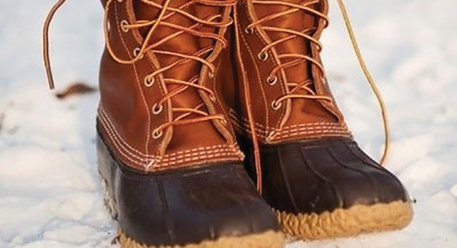 The Original L.l.bean Boot >> Boot up for snow-play | San Diego Reader