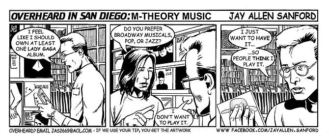 M-Theory Music