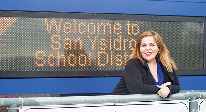Medina has been the homeless liaison for 1400 students, or 29 percent of those enrolled in the San Ysidro district, the largest percentage in San Diego County. - Image by Andy Boyd
