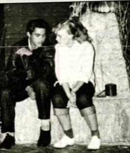 Ramon and Sharon at Sadie Hawkins dance, 1955. He was born Raymond Rice, March 9, 1940, in San Diego, at the San Diego Naval Hospital in Balboa Park. His mother was Mojave. His father was white.