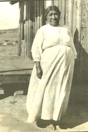 Ramona Lugo - who claimed to be the original Ramona, c. 1917.