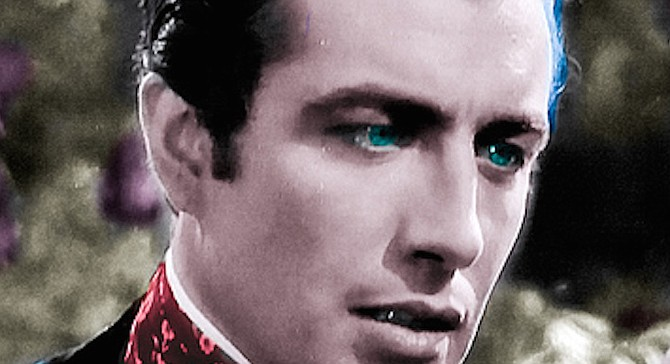 Dad looked like the old film star Robert Taylor, my mother like a corn-fed, Midwestern Elizabeth Taylor.