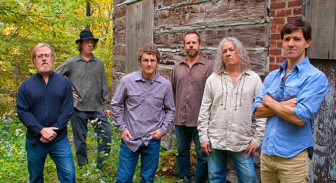 Railroad Earth vocalizes with that earnest fire-in-the-belly holler we all grew up listening to on country music's finest television hour, Hee Haw.