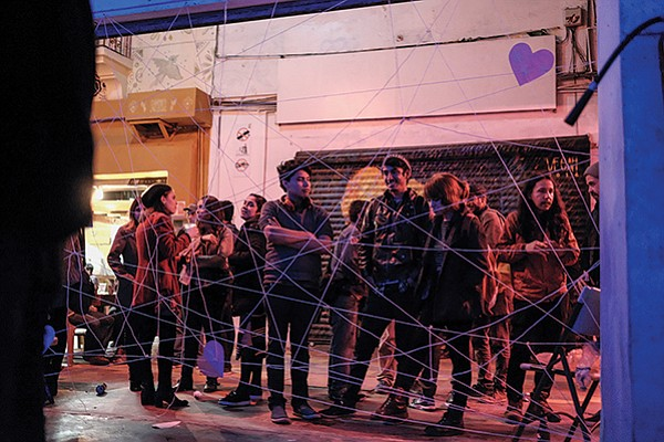 Hundreds attended the third annual Because We Love You Fest in Pasaje Rodríguez.