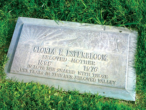 "Gloria Esterbloom and her husband were ranchers and benefitted from the labor of ""little brown men."""
