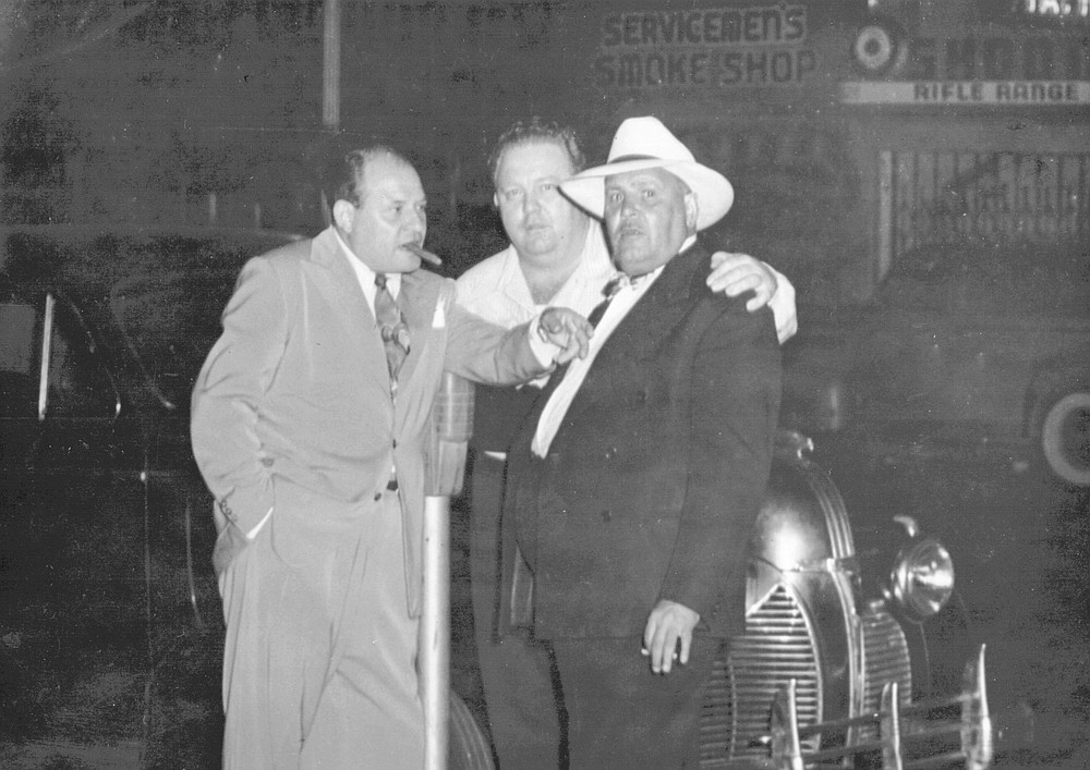 After the war Bompensiero became partners with Frank Paul Dragna and Louis Tom Dragna in ownership of the Gold Rail at 1028 Third Avenue, downtown San Diego.
