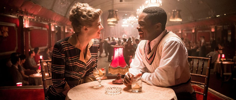 Rosamund Pike and David Oyelowo in A United Kingdom.