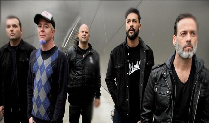 SoCal skate-punk perennials Strung Out set up at Brick by Brick on Saturday.