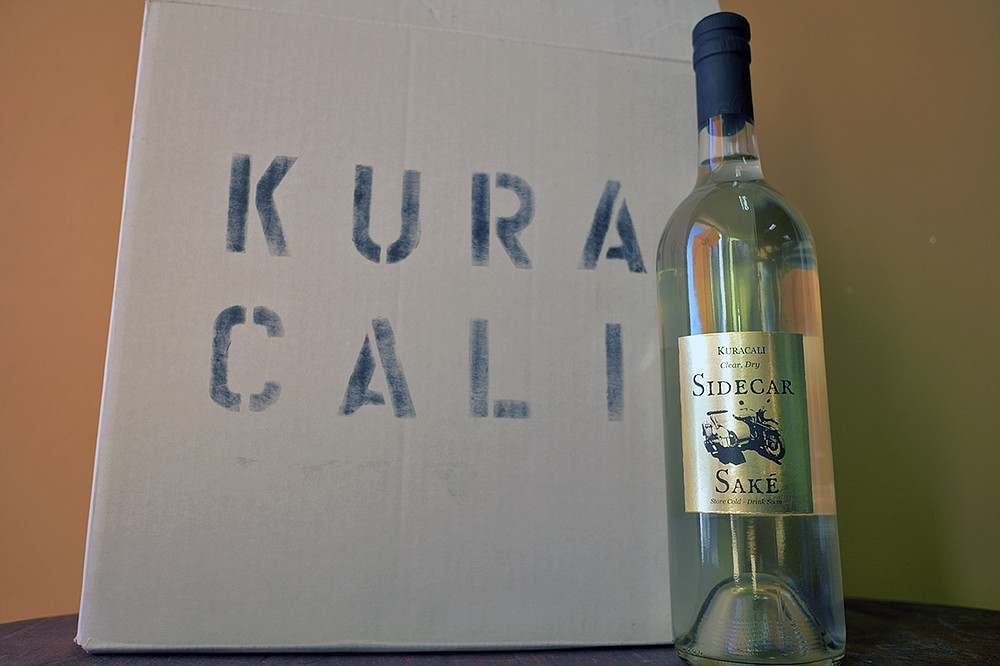 "The first bottle release for Kuracali, which loosely translates to ""Cali brewery"" in Japanese."