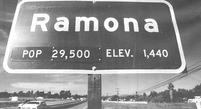 The prejudice against Ramona and the bad energies of the place stem from the attempted Native repulsions of the invaders of 1769.