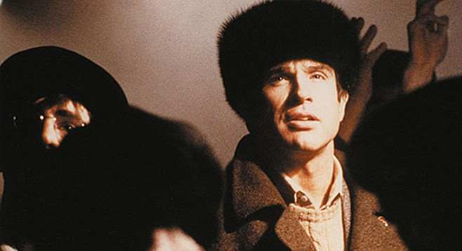 Warren Beatty in Reds: coincidence?