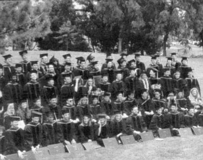 UCSD med school graduation. On December 20 our classmate Charlie had strangled Bet with a telephone cord in the laboratory where she worked.