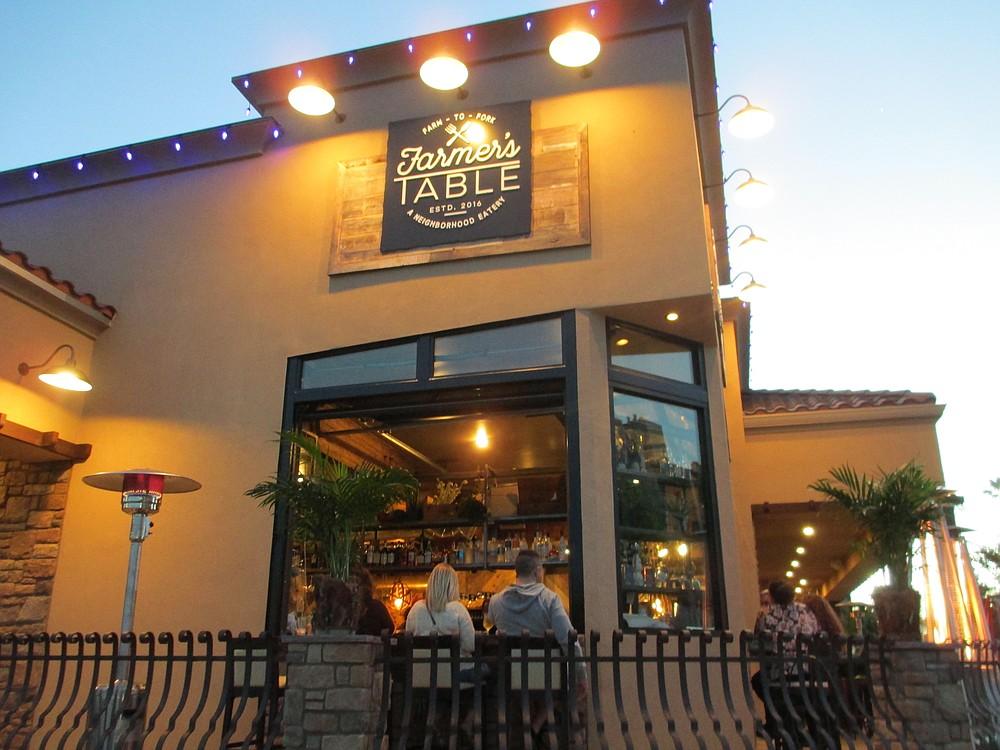 At the corner of Date Avenue and La Mesa Boulevard