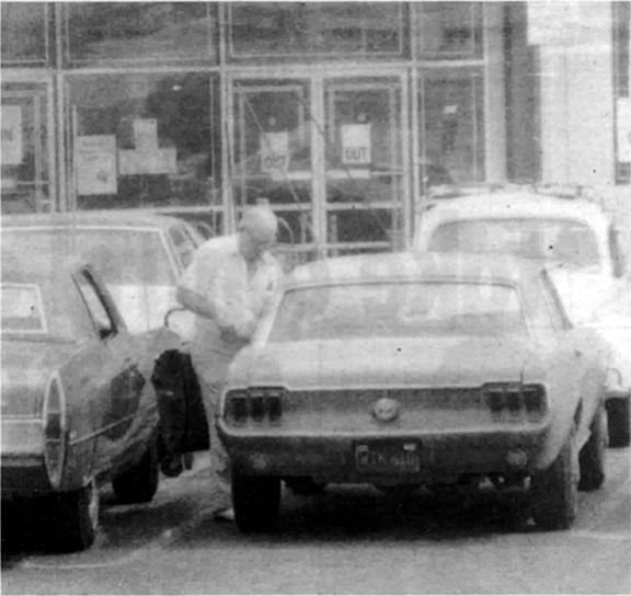FBI surveillance photo of Bompensiero, c. 1976