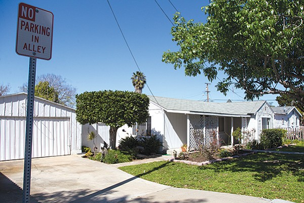 Barrio Carlsbad's houses are tiny, but still expensive. In 2015, a two-bedroom, one bath house of 676 square feet sold for $770,000.