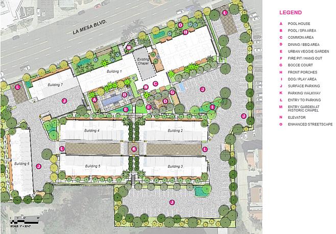 Little Flower site plan